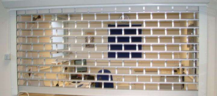 Window Bar Shutters